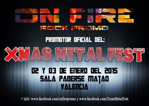 Xmas Metal Fest primer cartel