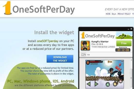 Verwijder OneSoftPerDay