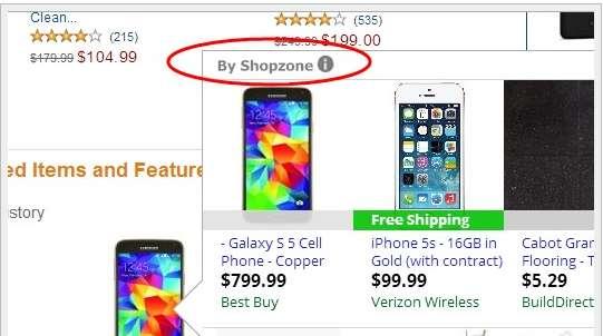 Fjern Shopzone