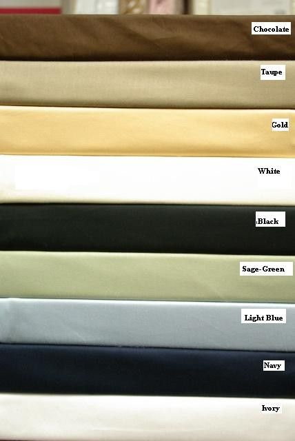 Scotts-sales 1000 Thread Count Cal King Water Bed Egyptian Cotton Bed Sheet Set -Unattached