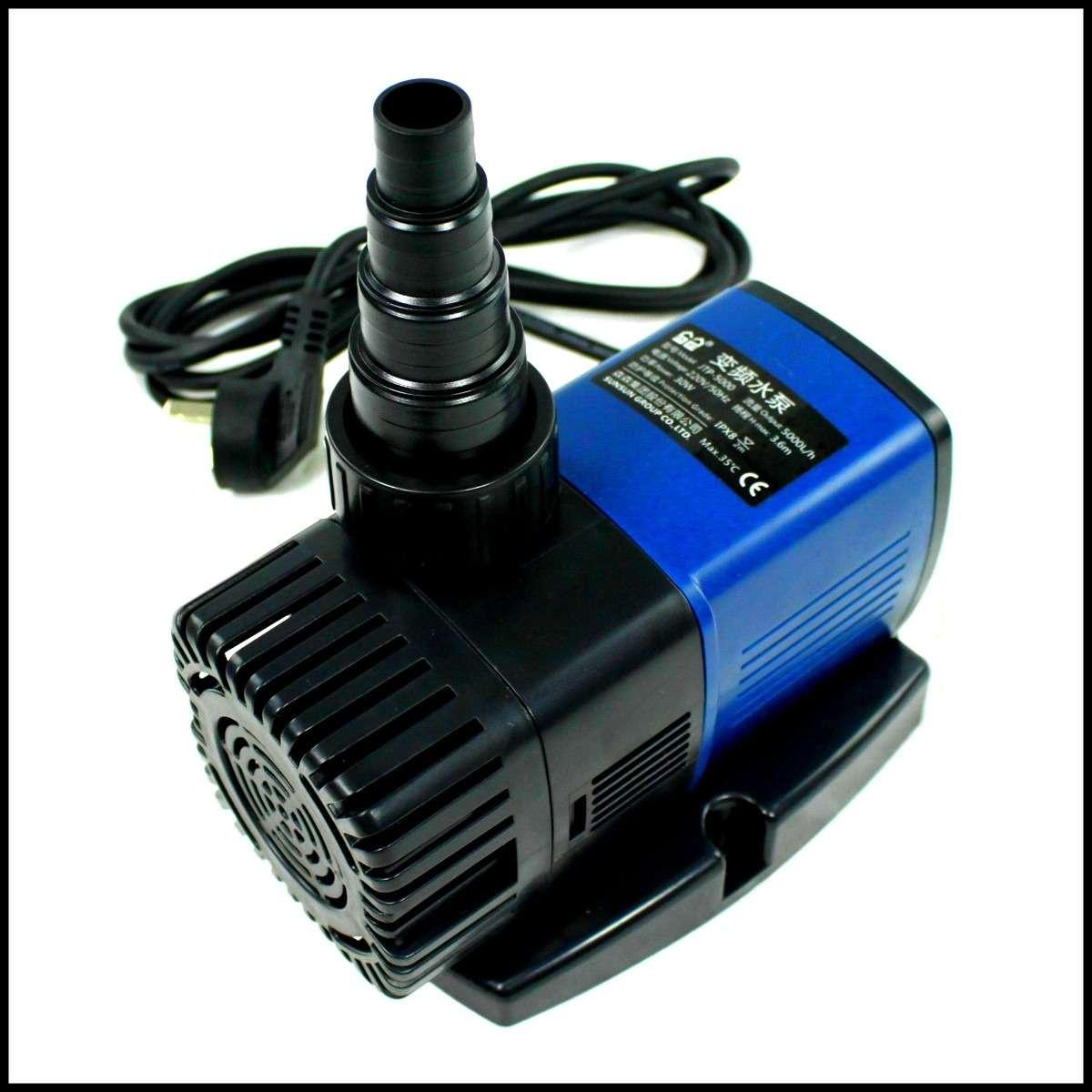 Jtp 7000 pompa di ricircolo risalita eco 50w 7000 l h for Pompa per laghetto