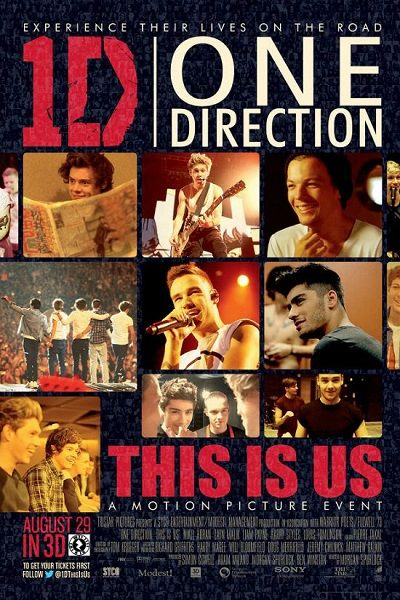One Direction: This Is Us - 2013 T�rk�e Dublaj DVDRip indir