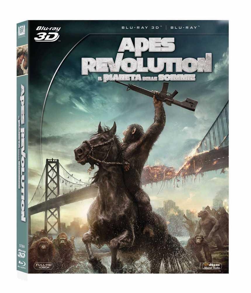 Apes Revolution - Il pianeta delle scimmie (2014) MKV 3D Half-OU [VU] DTS+AC3 ITA ENG Sub - DDN