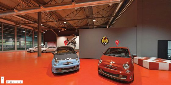 Officine Abarth Virtual Tour Google Street View