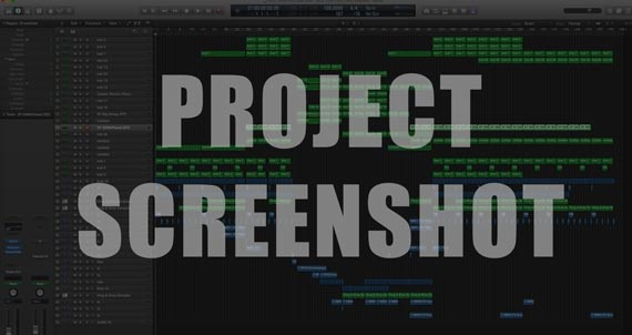Logic Pro X Project Screenshot
