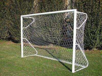 Porta calcio pulcini in acciaio trasportabile m 4x2 - Rete porta da calcio ...