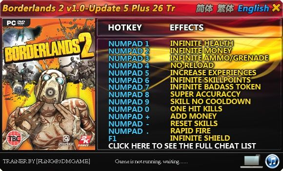 borderlands 2 cheat engine download