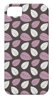 purple leaf iphone 5 case