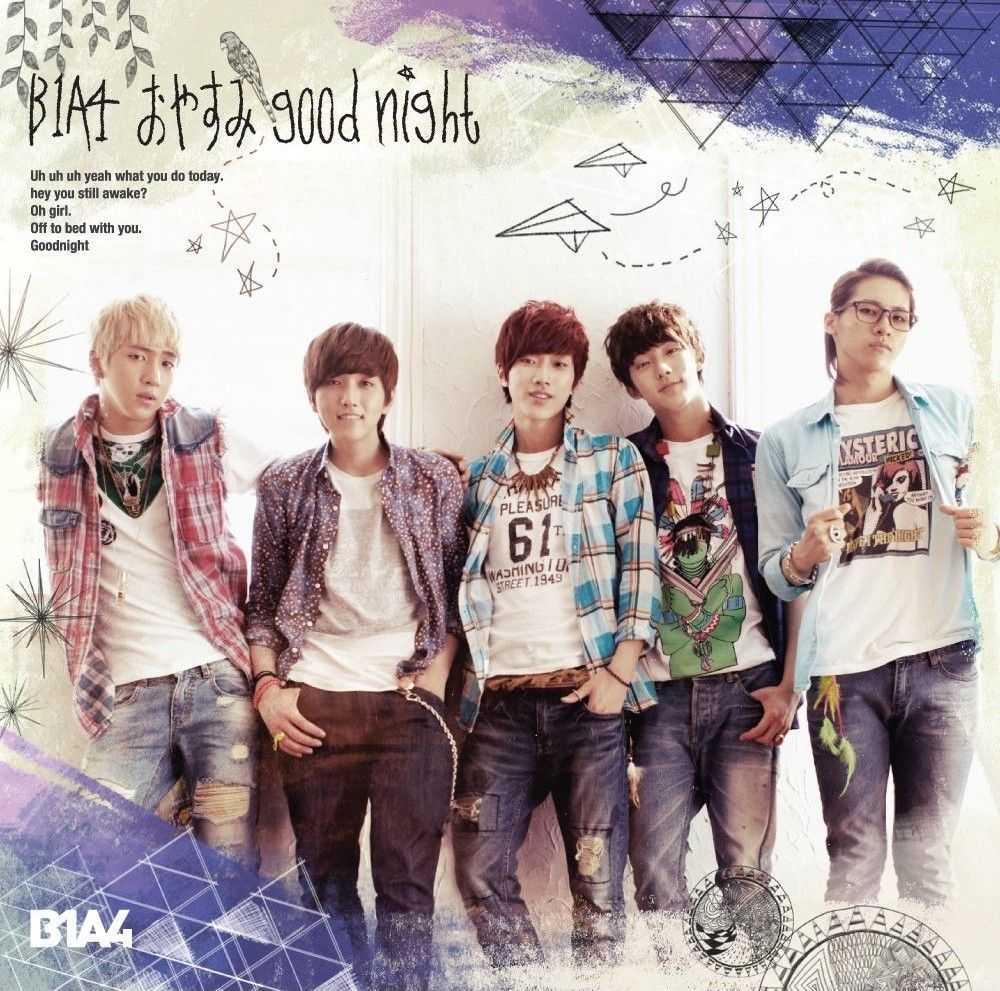 [Single] B1A4 – Oyasumi Good Night (Japanese) [Regular Edition]