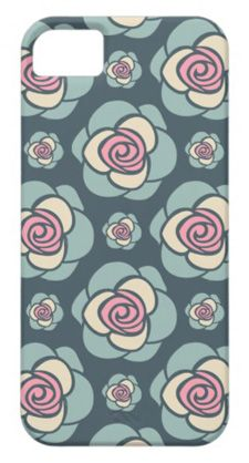 sweet roses pattern iphone case