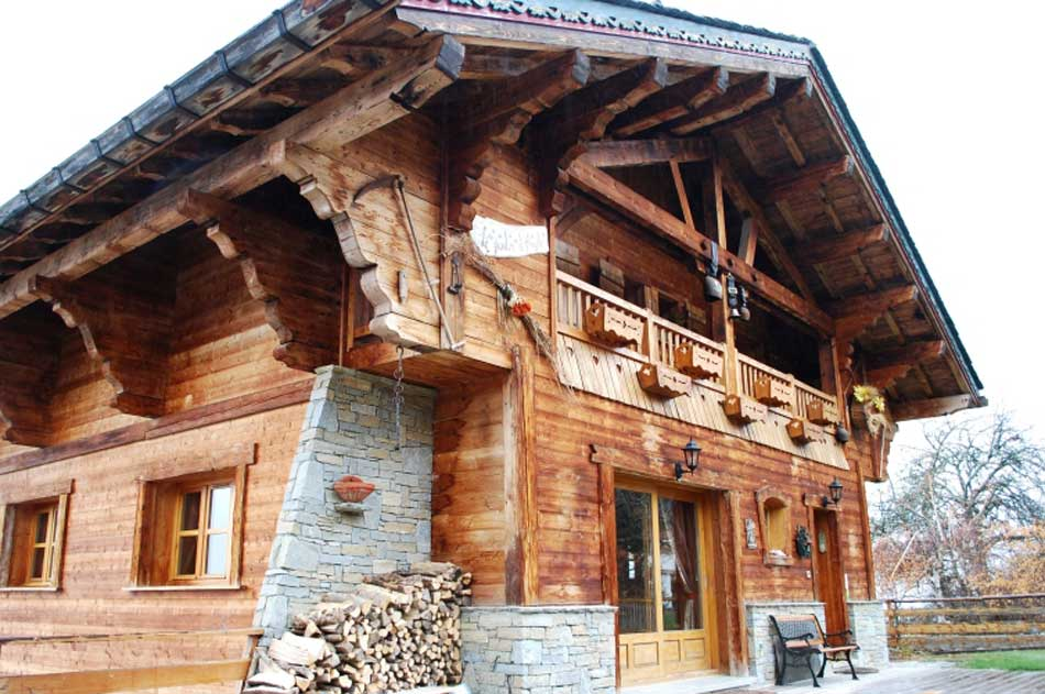 New buildings built in traditional architecture style page 66 skyscrapercity - Chalet jardin d angele ...