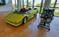 Museo Lamborghini at Google Street View