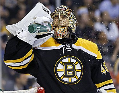 Bruins goalie Tuukka Rask has been solid in net lately, earning his second straight shutout in a 2-0 win over Tampa Bay. (USATSI)