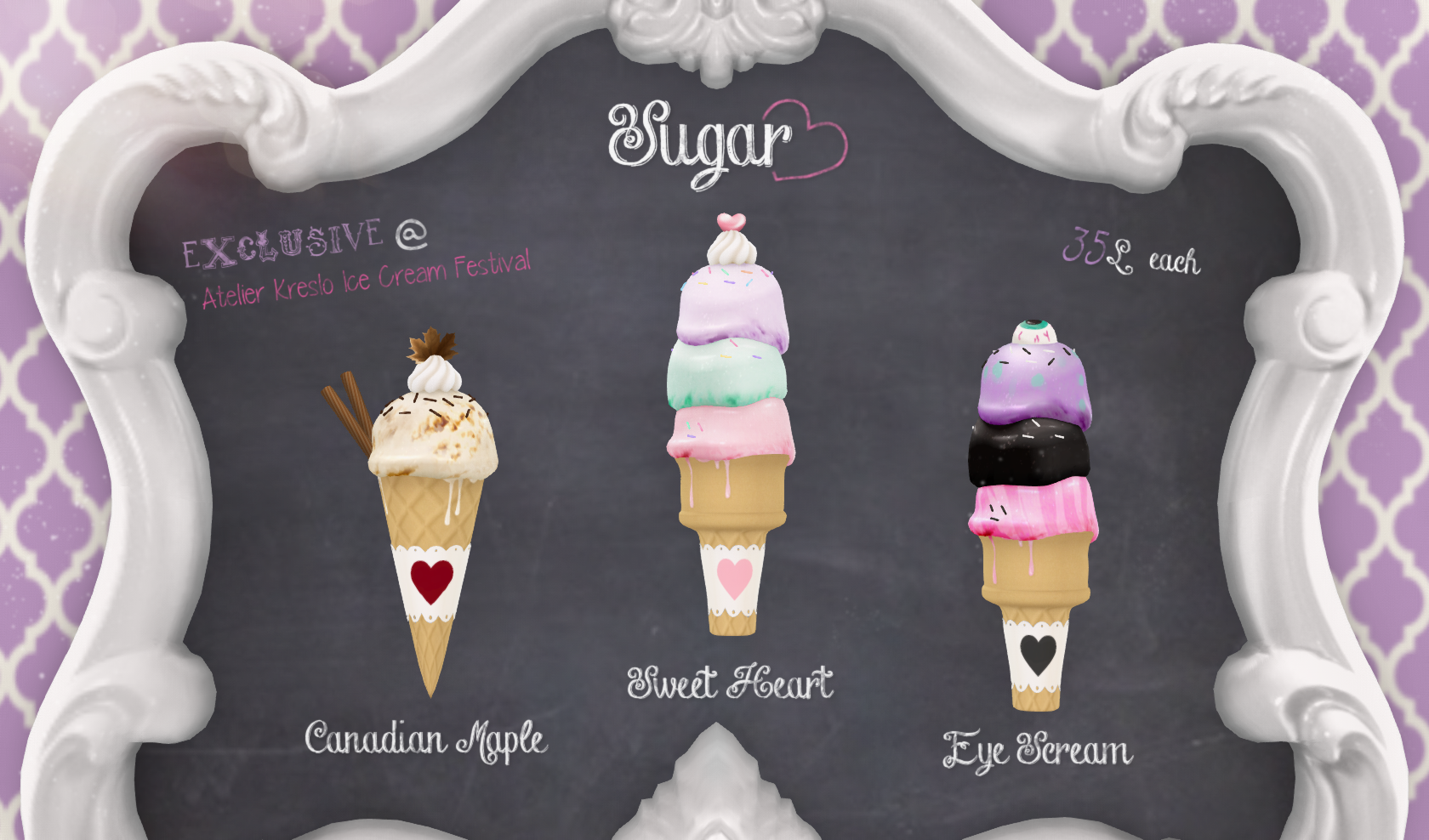 {Sugar Heart} @ Atelier Kreslo Ice Cream Festival