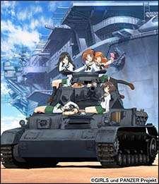 Watch Girls und Panzer Online