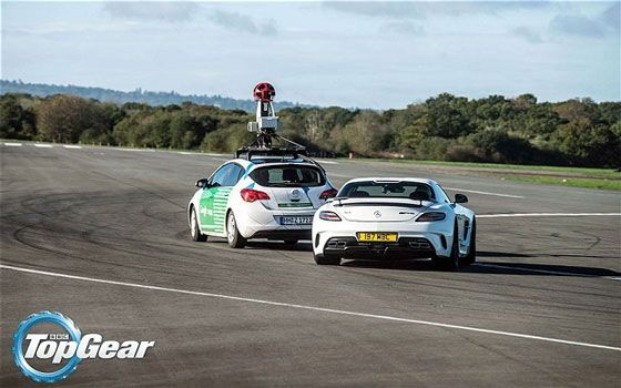 Top Gear Test Track in Google Street View