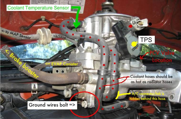 service manual  how to clean 1993 geo storm throttle body