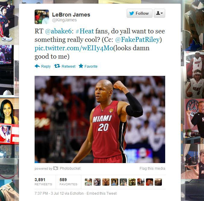> Bron Retweets Pic Of Jesus In A Heat Jersey:ohnoes: (pic) - Photo posted in BX SportsCenter | Sign in and leave a comment below!