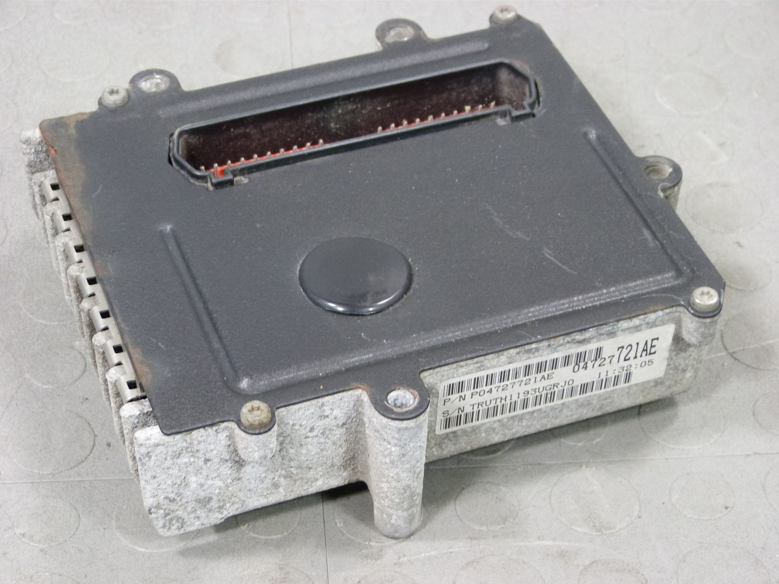 2001 Buick Century Transmission Control Module Tcm And