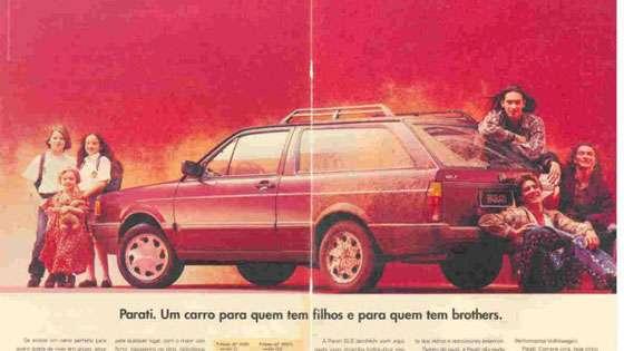 Volkswagen Parati Propaganda Filhos Brothers
