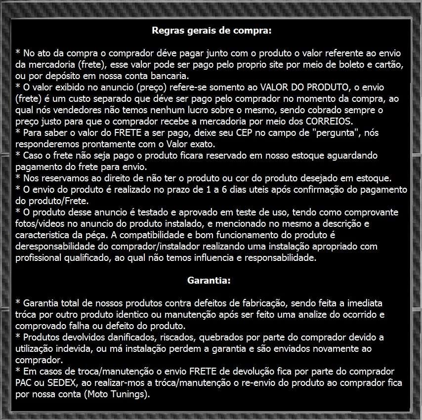 Escapamento Esportivo, Ponteira Nova Cb500f, Cb300, Cbr250