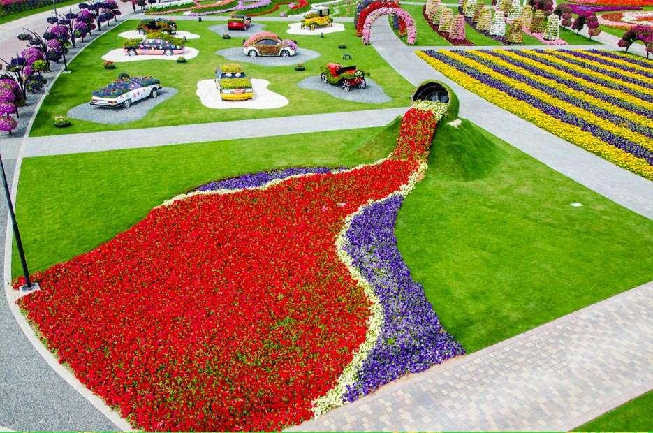 87278566 O maior jardim do Mundo   o jardim de milagre de Dubai
