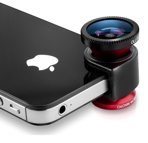 Olloclip iPhone camera lens on Cool Mom Picks