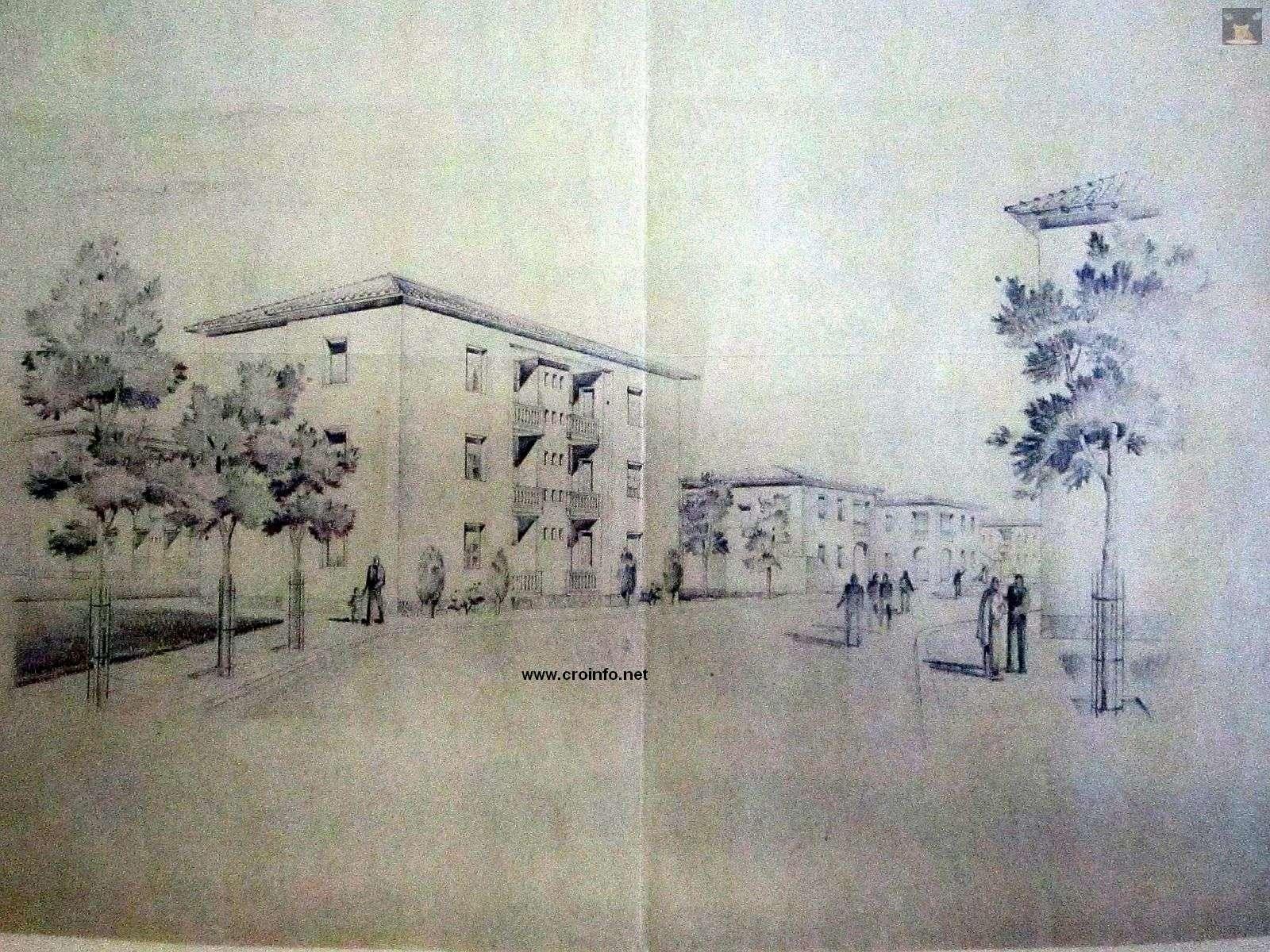 radničke kuće naselje vojak talijani