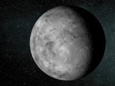 The artist&#39;s concept depicts the new planet<br /> dubbed Kepler-37b. The planet is slightly<br /> larger than our moon, measuring about<br /> one-third the size of Earth. Kepler-37b<br /> orbits its host star every 13 days at less<br /> than one-third the distance Mercury is to<br /> the sun.<br /> Image credit: NASA/Ames/JPL-Caltech&nbsp;&nbsp;<br /> <a href='http://www.nasa.gov/mission_pages/kepler/multimedia/images/tiny-planet-kepler-37b.html' class='bbc_url' title='External link' rel='nofollow external'>� Full image and caption</a>