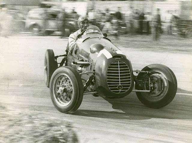 Felice Bonetto, 1946 Cisitalia D46 F2, 1948 Mantova Grand Prix