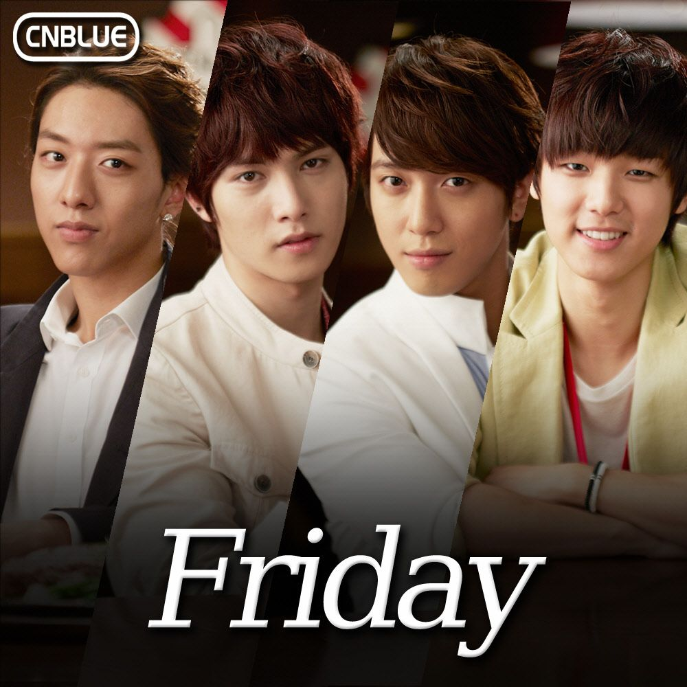 [Single] CN BLUE - Friday