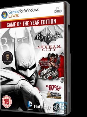 [PC] Batman: Arkham City - Game of the Year Edition (2012) - FULL ITA