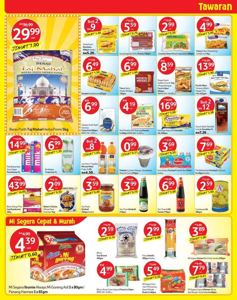 Tesco Promotion : Weekly Catalogue (18September - 24September 2014)