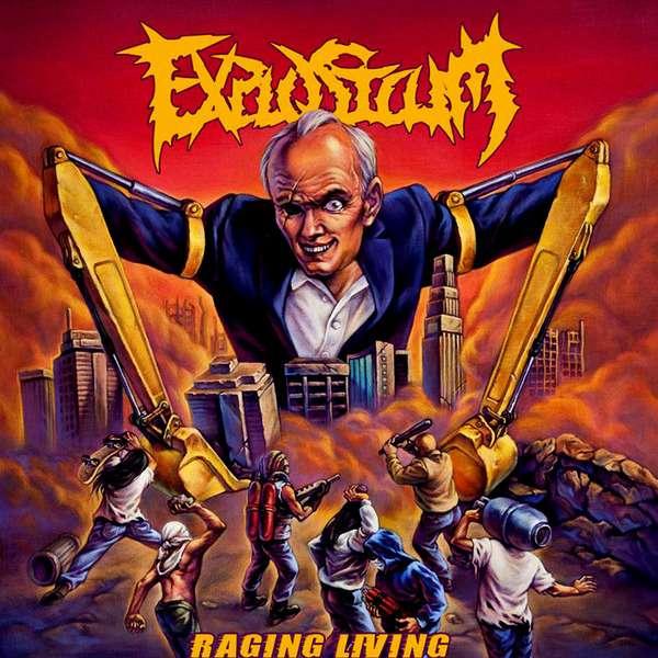 Explosicum - Raging Living (2014)