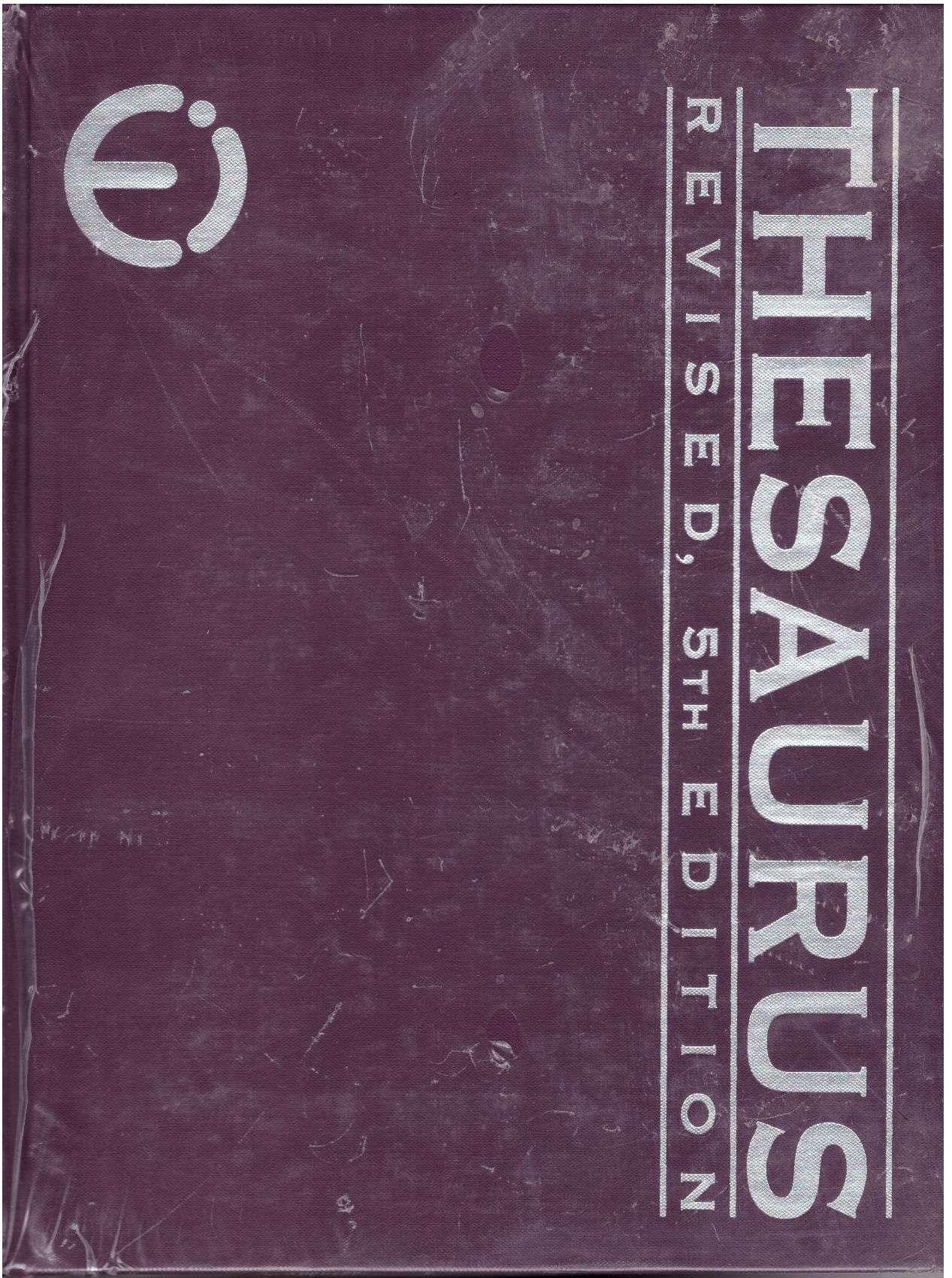 Ei Thesaurus 5th Edition Fifth, Staff