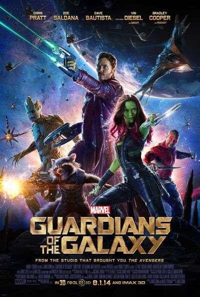 Guardianes de la Galaxia pelicula ciencia ficcion 2014