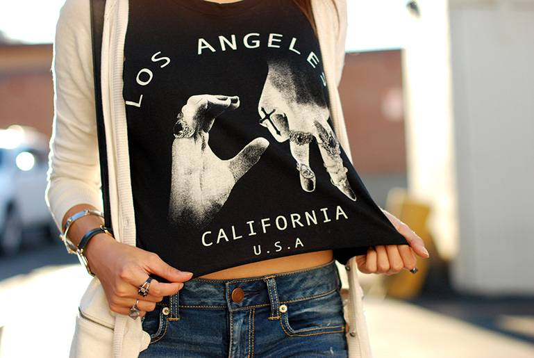 socal crop top