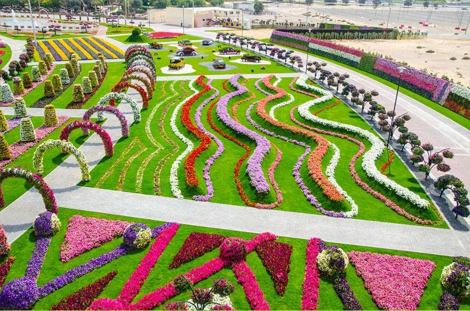 65559246 O maior jardim do Mundo   o jardim de milagre de Dubai