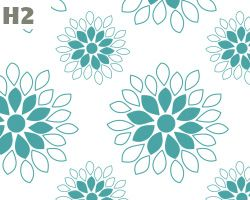 Blue Dahlia Pattern