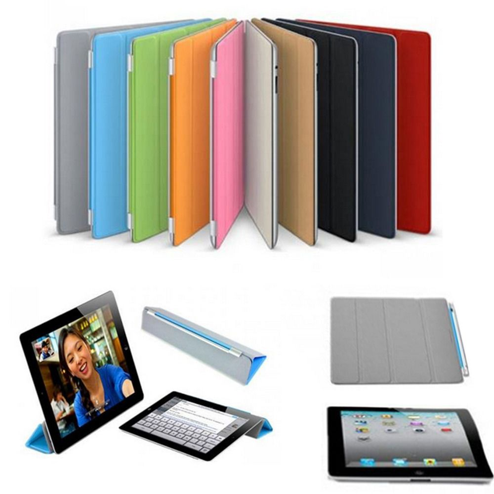 housse etui smart cover ipad 2 3 4 5 air ipad mini coque arriere stylet ebay. Black Bedroom Furniture Sets. Home Design Ideas