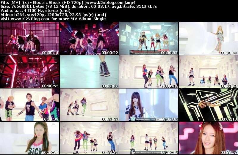 [MV] f(x)   Electric Shock (HD 720p Youtube)