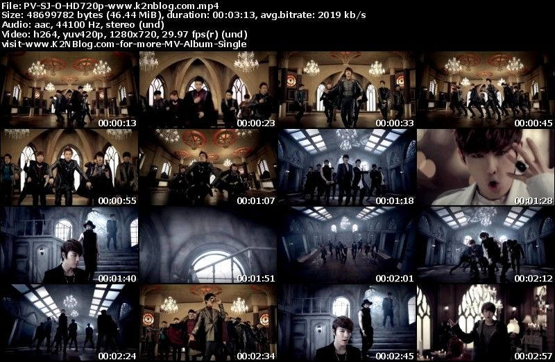 [PV] Super Junior - Opera (HD 720p Youtube)