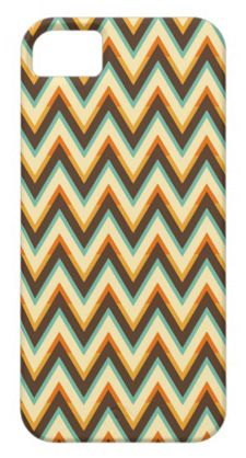 retro chevron iphone case