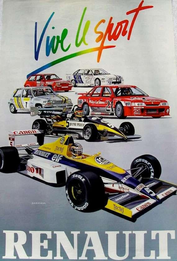 Vive le sport. Renault.