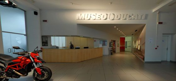 Museo Ducati in Google Street View