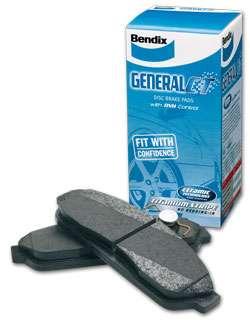 Ford-Focus-LV-Zetec-2009-2010-Rear-Disc-Brake-Pads-BENDIX-DB1763-GCT
