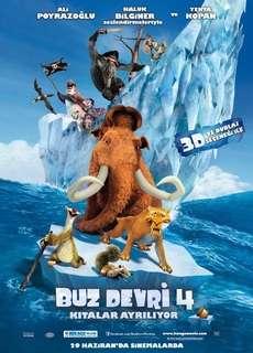 Buz Devri 4 Kıtalar Ayrılıyor - 2012 DVDRip XviD - Türkçe Dublaj Tek Link indir