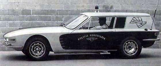 Brasinca 4200 GT (Uirapuru) - Protótipo Gavião, modelo experimental para a Polícia Rodoviária