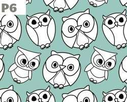 Sketch Owl Cartoon
