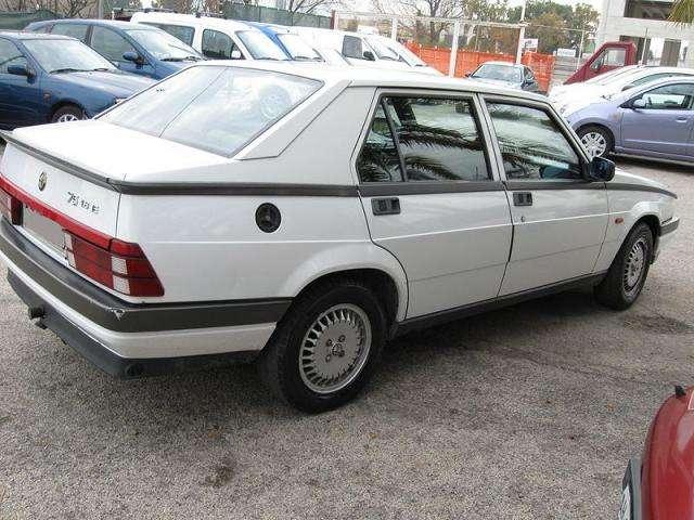 1987 alfa romeo milano specs 12